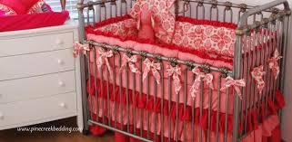 Pink Crib Bedding by Pink Crib Bedding Pine Creek Bedding