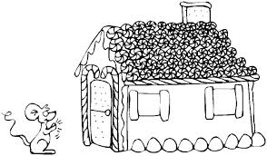 Gingerbread House Coloring Index