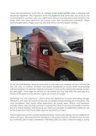 100 Food Truck Manufacturers Truck Manufacturers