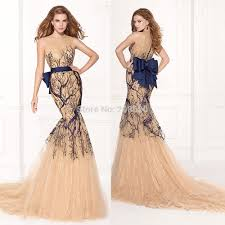Get Quotations Turkish Abiti Da Sera Champagne Long Mermaid Evening Dress Embroidery Abaya In Dubai Prom Gowns With