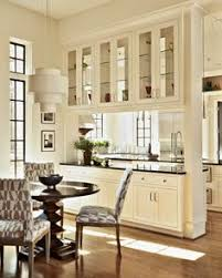 Pass Through For Kitchen Open With Glass Cabinets CabinetsDining Room