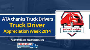 ATA Thanks Truck Drivers (VIDEO) | Truck Driver Appreciation Week 2014 Ata Tmaf Promoting Truck Driver Appreciation Week Bulk Transporter Horvath To Succeed Cammisa As Atas Vp Of Safety Policy Tonnage Index Fell 14 In June Scaletipping 44000 Hp Motor Returns Aedc Arnold Air Force Up 19 July 2016 Membership Miltones Arizona Trucking Association American Associations Supports Trumps Tax Reform Home Facebook Digital Innovation For The Industry With Platforms Launches Focus Drive Stay Alive Iniative Benefits And Salaries Rising Cargotrans Driver Shortage Analysis 2017