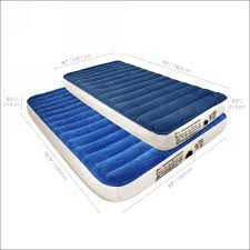 bedroom magnificent headboard airbed with built in pump how to