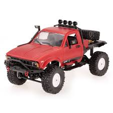 WPL C14 1/16 2.4GHz 4WD RC Crawler Off-road Semi-truck Car With ...