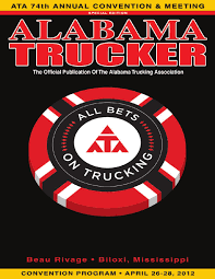 ATA 2012 Convention Program By Alabama Trucking Association - Issuu
