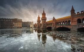 100 Water Bridge Germany Picture Berlin Ice Bridge River Cities 3840x2400