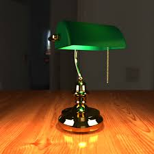 Antique Bankers Lamp Green by Banker Lamp Green Shade