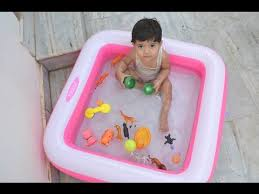 intex outdoor inflatable bath swimming pool tub for kids review
