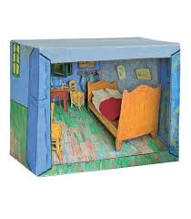 vincent gogh bedroom in arles diorama second state