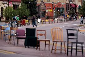 100 Stupid People And Folding Chairs Chair By Chair Manitou Art Project Comes Into Place Colorado