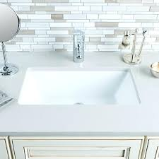 Kohler Verticyl Sink Drain by Kohler Rectangular Undermount Bathroom Sink Medium Size Of