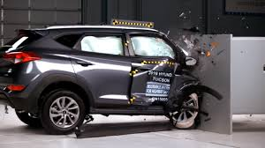 2016 Hyundai Tucson Earns Best Safety Scores from IIHS in Small