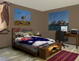 Australian Themed Bedroom