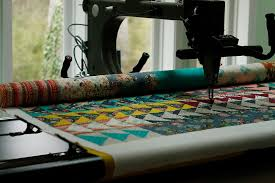 Longarm Quilting Services — Stitched in Color