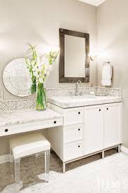 vanity table in the ensuite lucite stool bathrooms pinterest