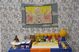 Dragon Ball Z Decorations by Dragon Ball Z Birthday Love Every Detail