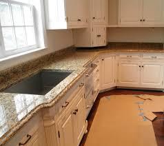 recommended santa cecilia granite with light oak cabinets