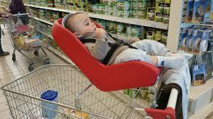 siege caddie bébé siège coque et caddie faire les courses avec bébé sécurange