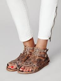 Bed Stu Claire by Free People Cactus Valley Sandal In Brown Lyst