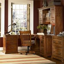 Beautiful Rustic Home Office Desks Introducing Natural Beauty Into The Room Marvelous Classic Idea