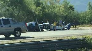100 San Diego Truck Accident Lawyer 1 Killed As Plane Crashes On Freeway Near Hits Car