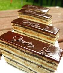 G¢teau Opéra Cakes Patisseries Desserts