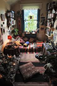a lot of wiccans dedicate a whole room to all their wicca