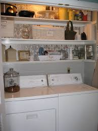 laundry closet shelving ideas