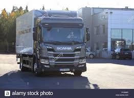 100 Cng Truck For Sale Lieto Finland October 19 2018 Scania CNGCGB Gas Powered P280