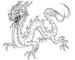 Coloring Pages Of Realistic Dragons Collection Dragon Page For Adults