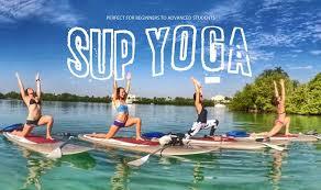 SUP Yoga BG Oleta River Outdoor Center Inside State Park