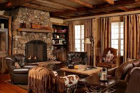 north carolina country style residence traditional living room