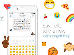 Messenger SAY HELLO TO THE NEW MESSENGER EMOJIS From