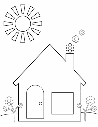 Awesome Home Coloring Pages 22 For Your Gallery Ideas With