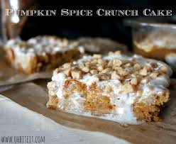 Pumpkin Spice Bundt Cake Using Cake Mix by Pumpkin Spice Crunch Cake Oh Bite It