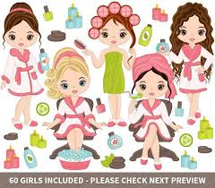 More Spa Clipart Can Be Found Here Etsyme 2o4X3Cx ITEM Girls