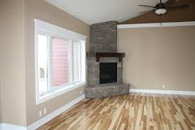 corner stone fireplace traditional living room other by