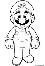 Coloriage Super Mario Bros Hd Dessin