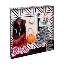 Barbie Chaqueta De Cuero Y Camiseta Gato Pack 2 Modas