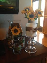 Kitchen Glamorous Sunflower Accessories Decor Walmart On The Table Outstanding