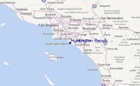 Huntington Beach Regional Map