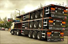 Flatbed Trailers Production Completed - ALURA TRAILER