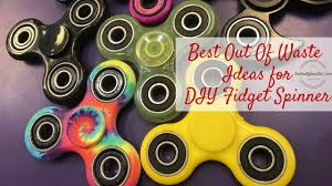 Best Out Of Waste Ideas For Fidget Spinner DIY
