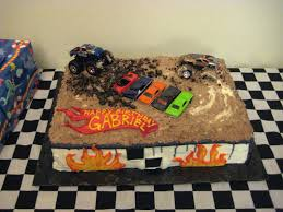 Monster Truck Cake-He Saw This One And Said