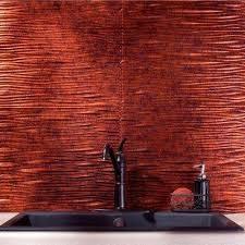 Copper Tiles For Backsplash by Fasade Pattern Moonstone Copper Tile Backsplashes Tile
