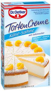 dr oetker käse sahne tortencreme 150g