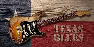 Texas Blues Digital Art By WB Johnston