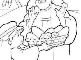 Jesus Feeds The 5000 Coloring Page 46 Best Bible