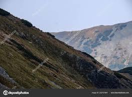 100 Rocky Landscape Mountain Panorama Top Banikov Peak Slovakian Tatra Mountains