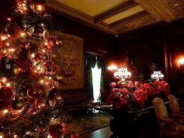 Christmas Decorations At Vanderbilt Mansion